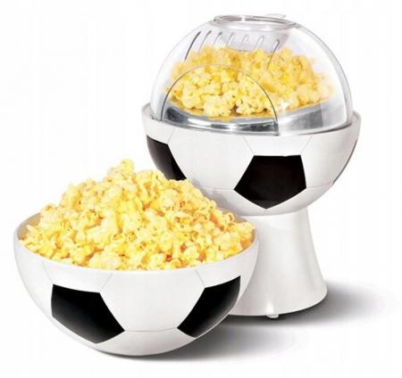 Aparat pentru preparat popcorn in forma de minge fotbal,1200W [0]