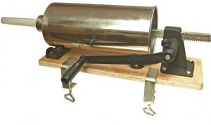 Aparat pentru umplut carnati manual Hurka 4 kg0