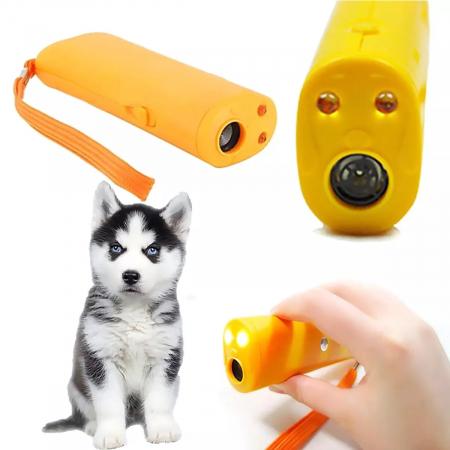 Aparat portabil ultrasunete impotriva cainilor agresivi sau pentru dresaj1