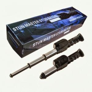 Baston telescopic TW-09 cu electrosoc,sirena si lanterna 800Kv1