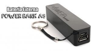 Baterie externa 2600 mAh Power Bank A50