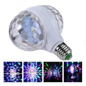 Bec rotativ dublu cu proiectie de lumini multicolore 6 Watt [2]