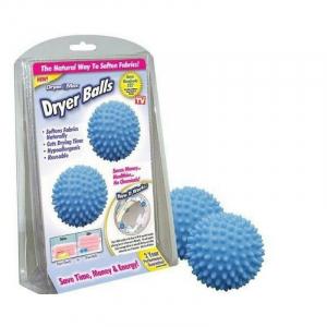 Bile hipoalergenice pentru uscarea si catifelarea rufelor Dryer Balls1