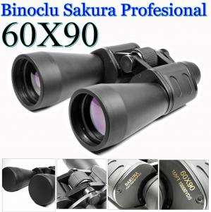 Binoclu Sakura cu lentile tratate antireflexie 60x900