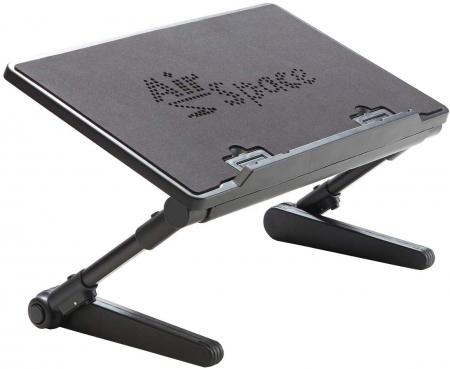 Birou portabil pentru laptop Air Space cu suport mouse si cooler [1]