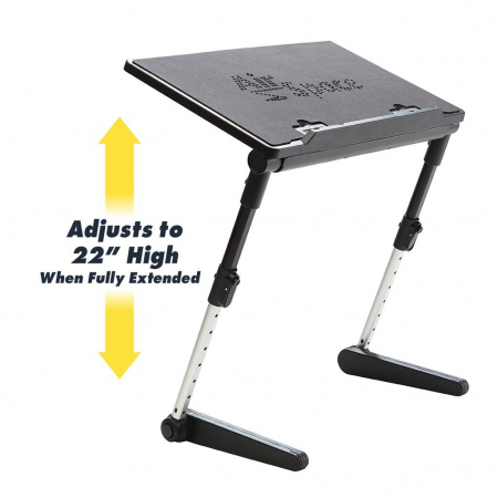 Birou portabil pentru laptop Air Space cu suport mouse si cooler [0]