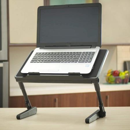 Birou portabil pentru laptop Air Space cu suport mouse si cooler [2]