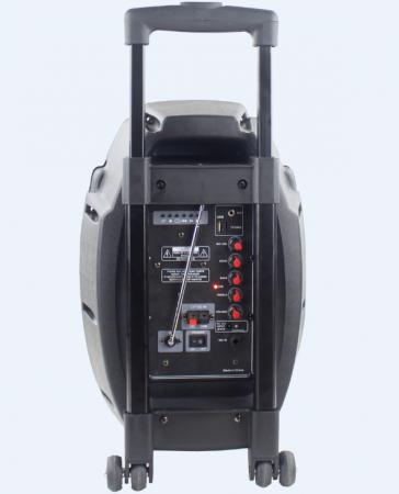 Boxa tip troler Temeisheng Q7S-16, cu microfon wireless si telecomanda [3]