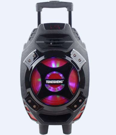 Boxa tip troler Temeisheng Q7S-16, cu microfon wireless si telecomanda [4]