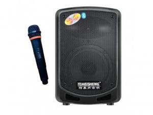 Boxa bluetooth tip troler Temeisheng A6-10, microfon WI-FI, cititor stick, card SD, radio FM0