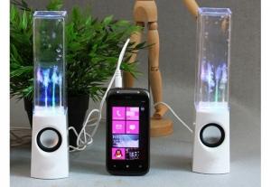 Boxe audio equalizer cu apa dansatoare si multicolore0