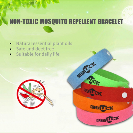 Bratari anti tantari Green Luck 4+1 GRATIS3