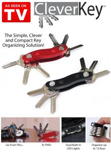 Breloc organizator pentru 12 chei Clever Key1