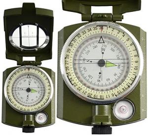 Busola militara cu ocular si reper prismatic TTG1