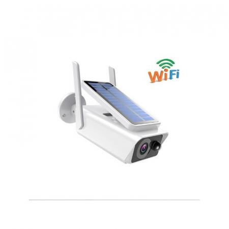 Camera de supraveghere Wifi, wireless cu panou solar4