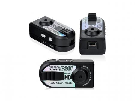 Camera video mini spion Q5 cu inregistrare HD si detectie de miscare Night Vision [0]