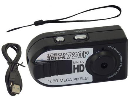 Camera video mini spion Q5 cu inregistrare HD si detectie de miscare Night Vision [5]
