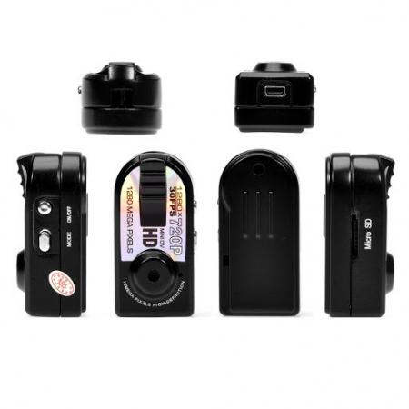 Camera video mini spion Q5 cu inregistrare HD si detectie de miscare Night Vision [4]