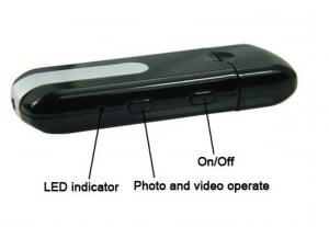 Camera video Mini U8 USB STICK spion 1