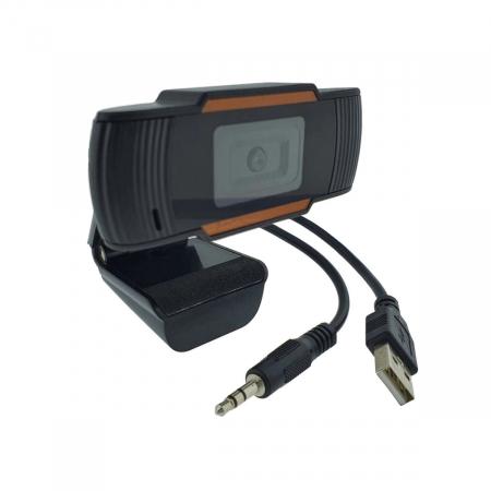 Camera web Full HD 1080P cu microfon incorporat, USB 2.00