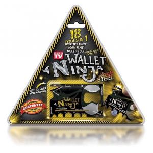 Card cu functii multiple 18 in 1 Ninja Wallet1