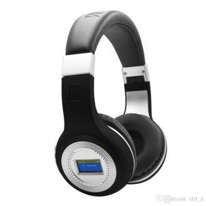 Casti wireless cu Ecran LCD si Bluetooth stereo wireless Bluetooth 4710
