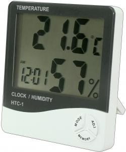 Ceas HTC-1 cu termometru si higrometru 0