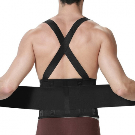 Centura lombara pentru spate cu bretele, Waist Support YC-6135 [1]
