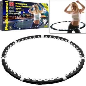 Cerc pentru fitness si masaj Hula Hoop Exerciser0