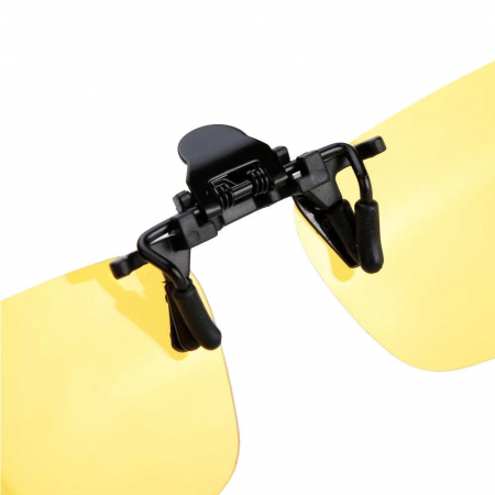 Clipsuri pentru ochelari Night View de condus noaptea sau pe timp de ceata [2]