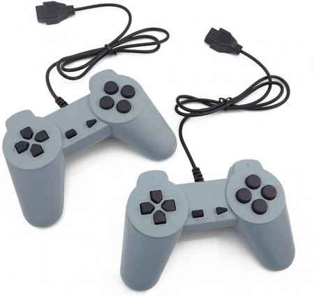 Consola de Jocuri Video Retro in memorie, cu 2 joystick-uri incluse, Jocurile Copilariei [6]