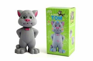 Motanul Talking Tom inteligent cu sunete si lumini3