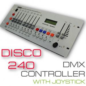 Controler disco cu joystick DMX 2400