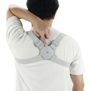 Corector de postura cu senzor inteligent si vibratii pentru spate drept0