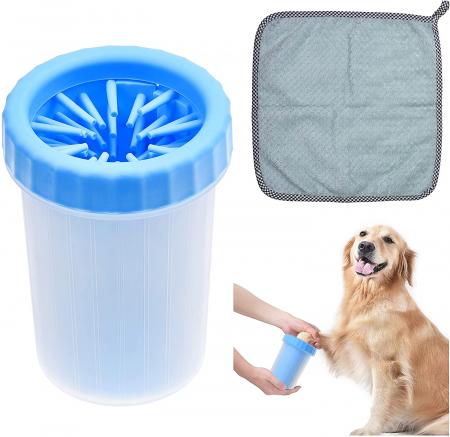 Dispozitiv Soft Gentle din silicon pentru curatarea labutelor, talie mare [2]