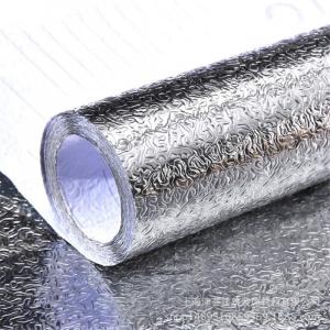 Folie adeziva din aluminiu pentru o bucatarie 60 x 300 cm [4]