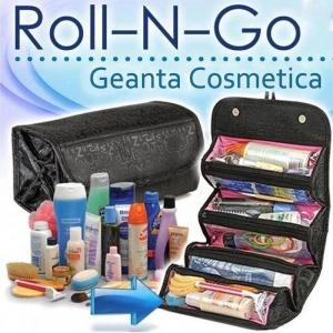 Geanta organizator pentru cosmetice make-up si accesorii Roll-N-Go [3]
