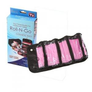 Geanta organizator pentru cosmetice make-up si accesorii Roll-N-Go [1]
