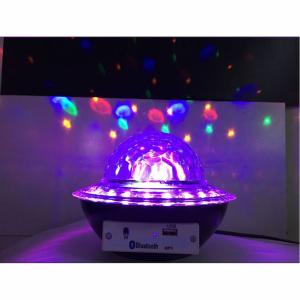 Glob disco cu LED RGB jocuri de lumini si MP3 prin Bluetooth Crystal Magic Balll4
