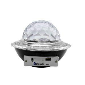 Glob disco cu LED RGB jocuri de lumini si MP3 prin Bluetooth Crystal Magic Balll0