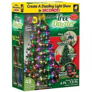 Instalatie pentru bradul de Crăciun cu 48 globuri luminoase Tree Dazzler4