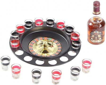 Joc de societate Ruleta Drinking cu 16 pahare pentru Shoturi [2]