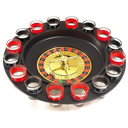 Joc de societate Ruleta Drinking cu 16 pahare pentru Shoturi [0]