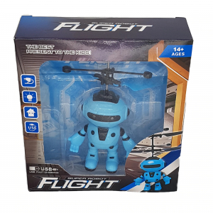 Jucarie interactiva Robot care zboara, reincarcabila cu USB4