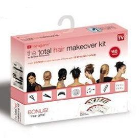 Kit pentru coafura Hairagami total hair makeover1