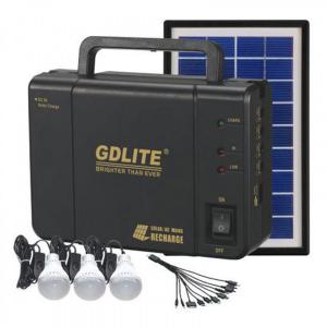 Kit sistem iluminare cu incarcare solara GDLITE GD-8006A, si 3 becuri LED [2]