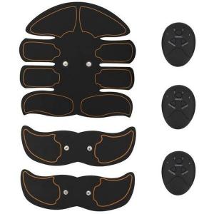 Kit Smart Fitness EMS electrostimulare corporala cu 8 paduri Unisex [1]