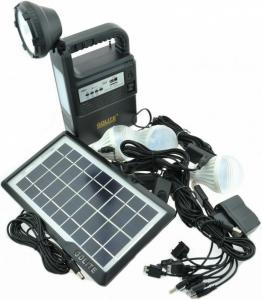 Kit solar panou fotovoltaic de camping si drumetii Gdlite GD-8133 [0]
