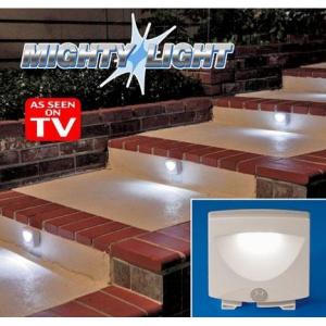 Lampa cu senzor de miscare pe baterii Mighty Light0