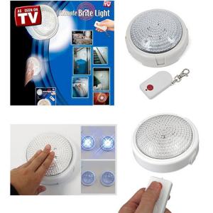 Lampa LED cu baterii si telecomanda Remote Brite Light [0]